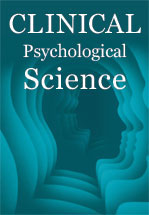 Clinical Psychological Science