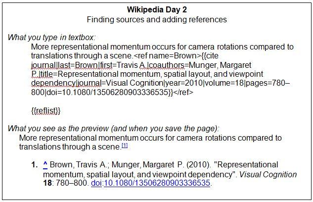 Having Undergraduates Write for Wikipedia – Association for ...