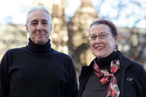 Avshalom Caspi and his wife Terrie Moffitt, have just won the Klaus J. Jacobs Research Prize for their research research on mental health and human development.