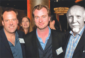 Despite differences in fluid and crystallized intelligence, world famous movie directors Wally Pfister and Christopher Noland mingled all night with world famous psychologist Raymond Cattell at the MTV Music Awards afterparty.