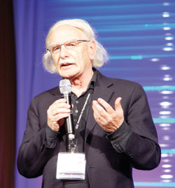 During his tour of the mirror mechanism, Giacomo Rizzolatti explains that in addition to reflecting an action, mirror neurons also help us understand emotion. Rizzolatti delivered the Keynote Address at the APS 23rd Annual Convention.