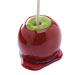 This is a photo of a candied apple.