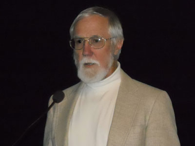 John C. Crabbe delivers the Mark Keller Honorary Lecture at the National Institute of Health.