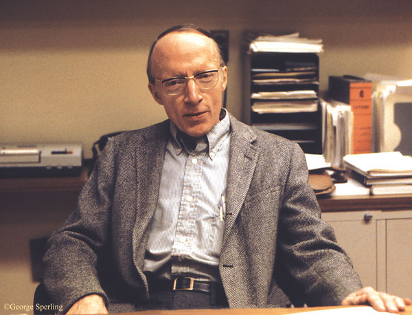 This is a photo of William K. Estes in 1979.