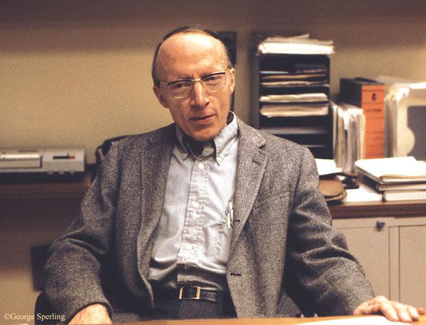 This is a photo of William K. Estes in 1979.