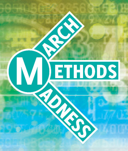 "This is a logo that reads, ""March Methods Maness."""