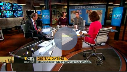 Click the image to see a video on online dating from CBS This Morning.