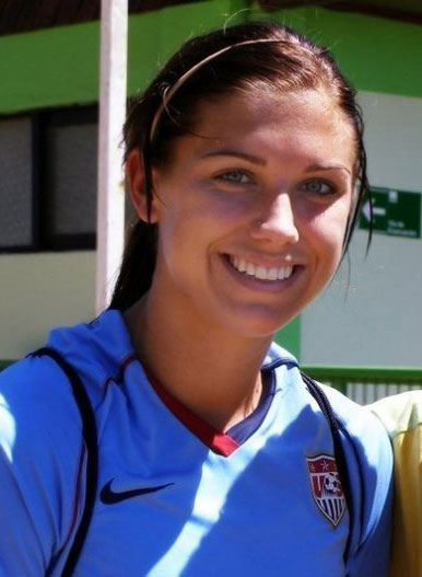 Alex Morgan, a forward for the US National Womens Soccer Team