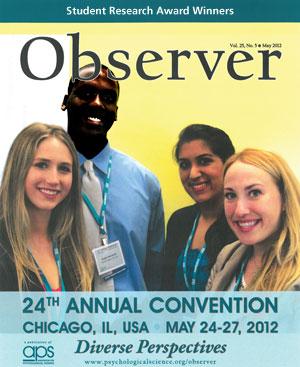 Student Research Award winners Madeleine L. Werhane, Roger C. McIntosh, Trishna Narula, and Joëlle Jobin.