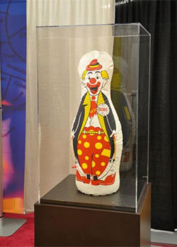 This is a photo of Albert Bandura's Bobo doll at the 24th APS Annual Convention.