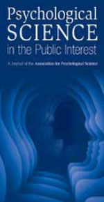 This is a photo of a logo for the journal Psychological Science in the Public Interest.