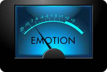 "This is a photo of a meter titled with ""Emotion."" Promising new work in emotion regulation suggests that the means by which we decide how to regulate what we feel, and even recognize our own emotions, might be the most productive areas for examining the intricacies of mood."
