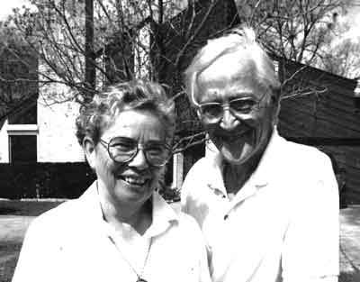 Jo Ann Evans Gardner (left), pictured with her husband, Gerald Gardner, was instrumental in founding the Association of Women in Psychology in 1969.