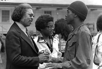 "Charles W. Thomas (left), dubbed the ""Father of Black Psychology,"" was a founder of the Association of Black Psychologists in 1968."