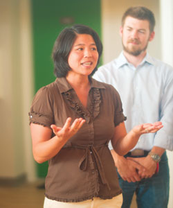 I-Chant Chiang teaches interdisciplinary courses that blend psychology, political science, and linguistics. Her research interests include linguistic relativity and questionnaire design.