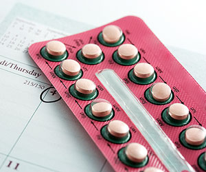 This is a photo of hormonal contraception pills.
