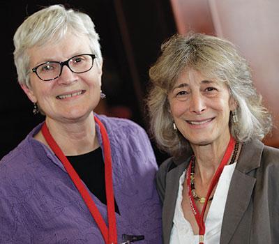 APS Fellow Patricia H. Miller, San Francisco State University, and incoming APS President Nancy Eisenberg, Arizona State University.