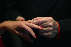 Couples Get Married In Group Ceremony On Valentine's Day