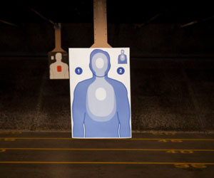 This is a photo of shooting targets.
