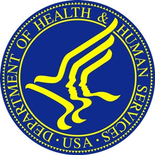 This is the logo of the US Department of Health & Human Services.