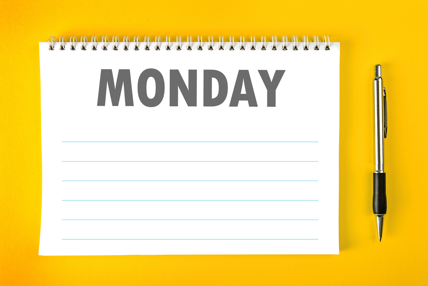 Why Monday Is The Best Day For Setting New Goals