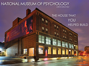 This is a photograph of the planned National Museum of Psychology.