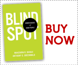 Blind Spot by Mahzrin Banaji - Available Now!