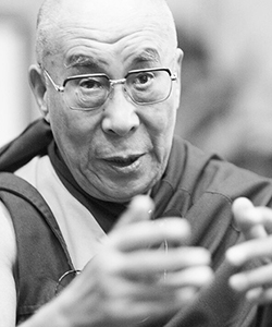 This is a photo of the Dalai Lama.