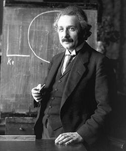 This is a photo of Albert Einstein.