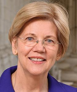 This is a photo of Elizabeth Warren.