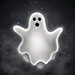 This is a graphic of a ghost.