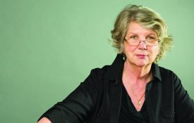This is a portrait of Marsha Linehan, winner of the Grawemeyer Award for Psychology