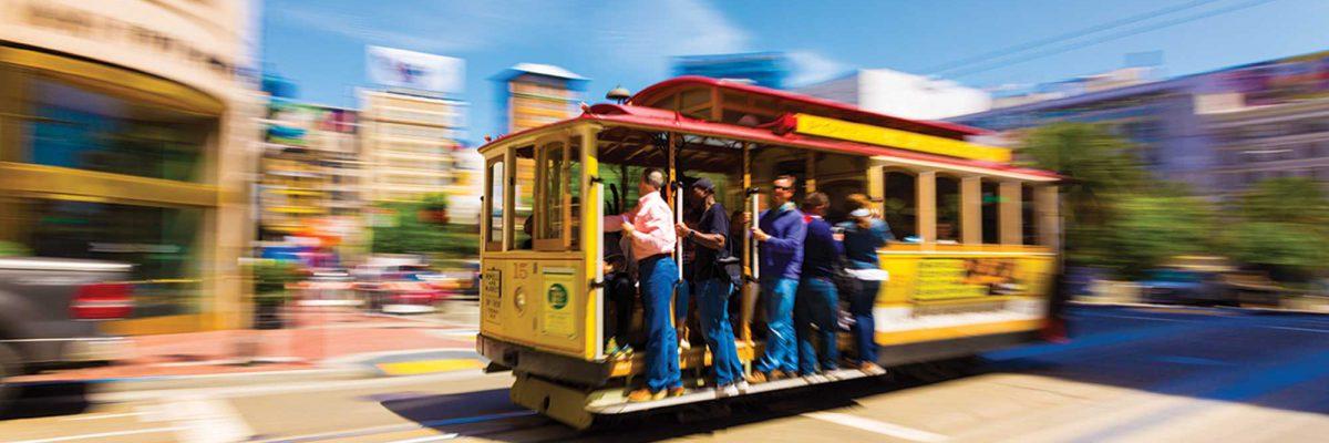 San Francisco classic cable car