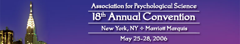 APS Annual Convention: New York, New May 25-28, 2006