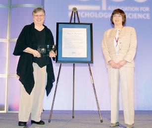 Leslie G. Ungerleider at her William James Fellow Award Address