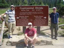 Alan Castel (left), Dave McCabe (center) and Matt Rhodes (right)