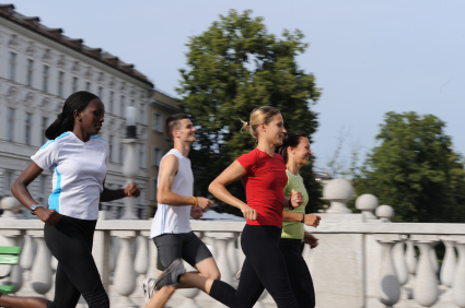 There may be a link between people's physical activity and their political activity.
