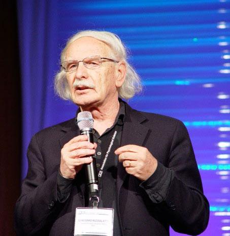 Keynote Speaker Giacomo Rizzolatti of the University of Parma, in Italy.