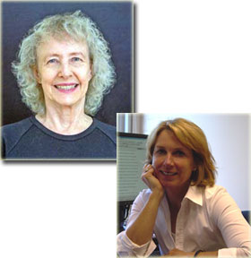 Symposium Chairs Alice Eagly (left) and Wendy Wood (right)