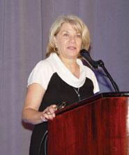 Psychological Science in the Public Interest (PSPI) editor Elaine Walker