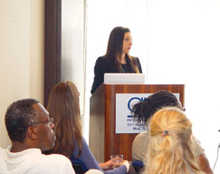 Daniela S. Jopp chairs the Childhood Traumatic Experiences Impact Neurocognitive Functioning in Old and Young Adults symposium