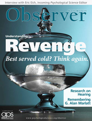This is a photo of the cover of the October 2011 Observer.