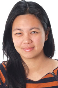 This is a photo of Joan Chiao