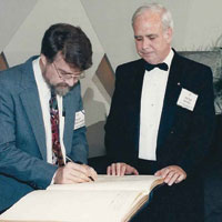 Rumelhart was inducted into the National Academy of Sciences in 1991.