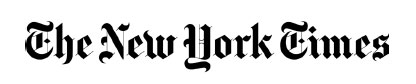 This is a photo of the logo of the New York Times.