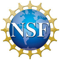 This is a photo of the National Science Foundation logo.