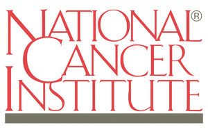 This is a photo of the National Cancer Institute logo.