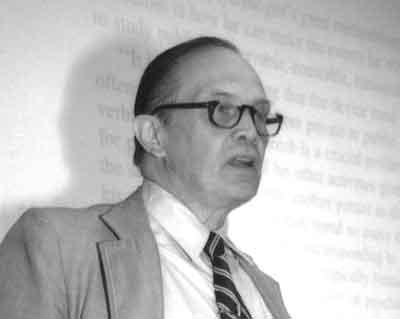 George A. Miller, 1989 APS Keynote Speaker