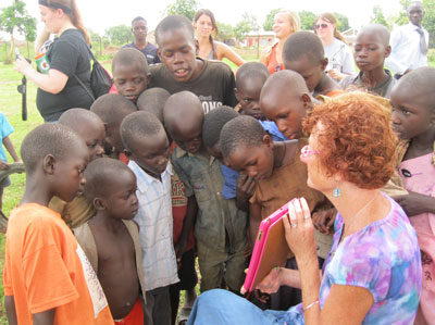 Crick had a deep personal passion for her work with youth in war-torn countries.