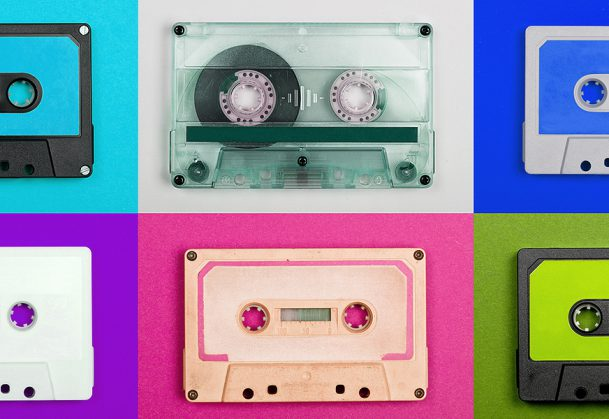 Cassette Tape Collection – Vintage audio tapes